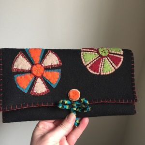 Shiraleah Felted Clutch